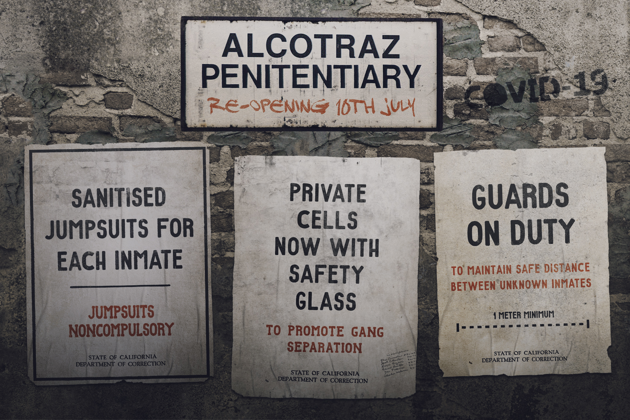 Alcotraz: Cell Block One Three