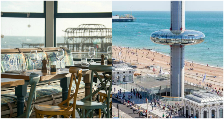 Brighton i360 Brighton Beach Club