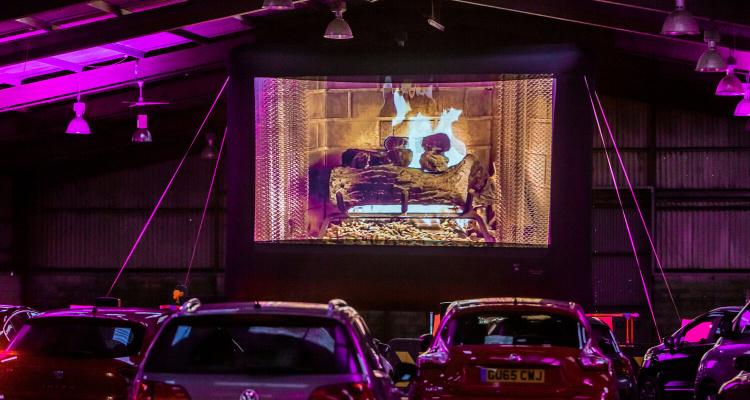 Cinestock Open-Air UK Drive-In Cinema
