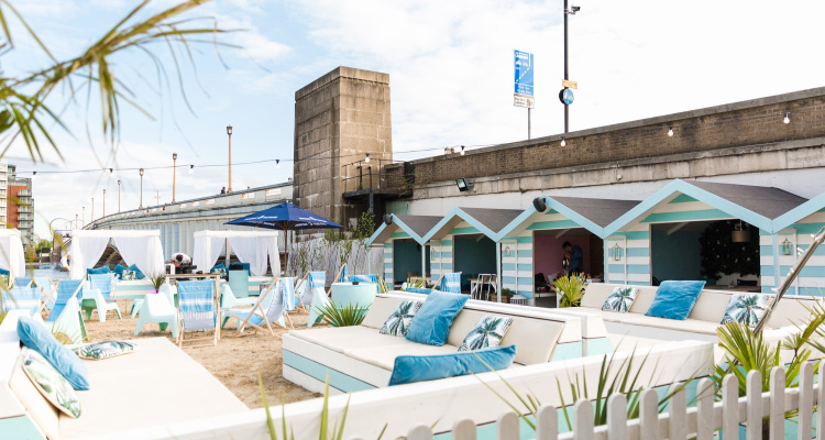 Fulham Beach Club London Brunch