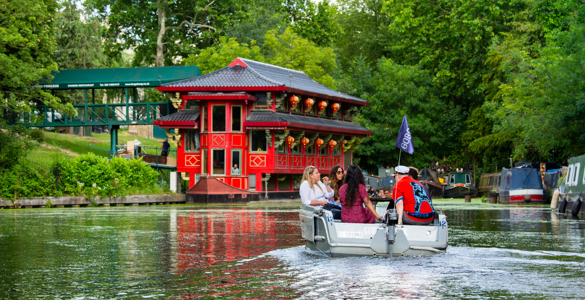 GoBoat London - Self-drive Boating Experience