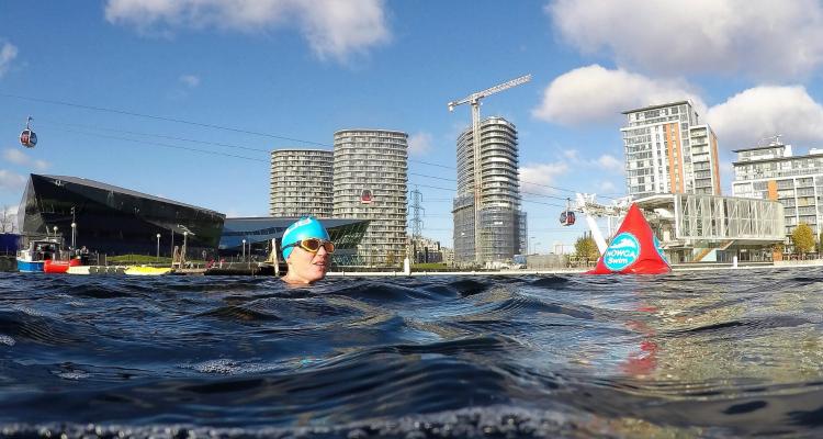Royal London Docks Wild Swimming London