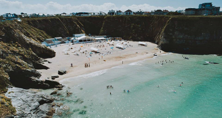 Lusty Glaze Beach Newquay