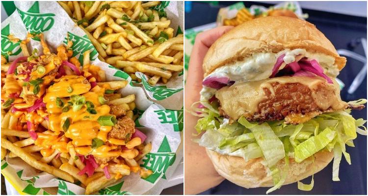 Oowee Vegan Burger London