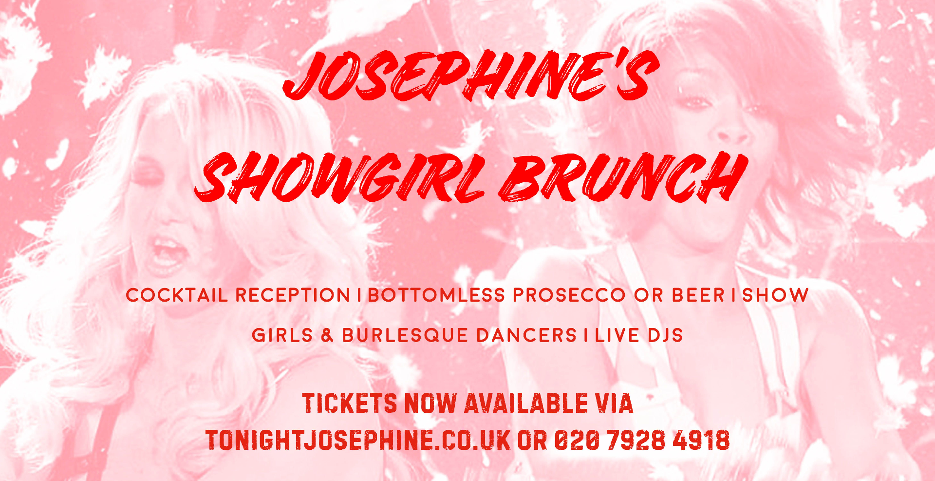 Josephine's Showgirl Brunch