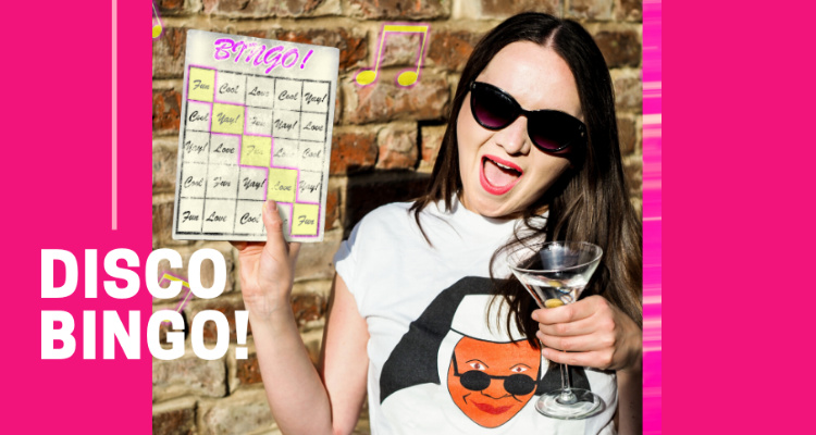 Disco Bingo | Online Pub Quizzes and Bingo Games | DesignMyNight