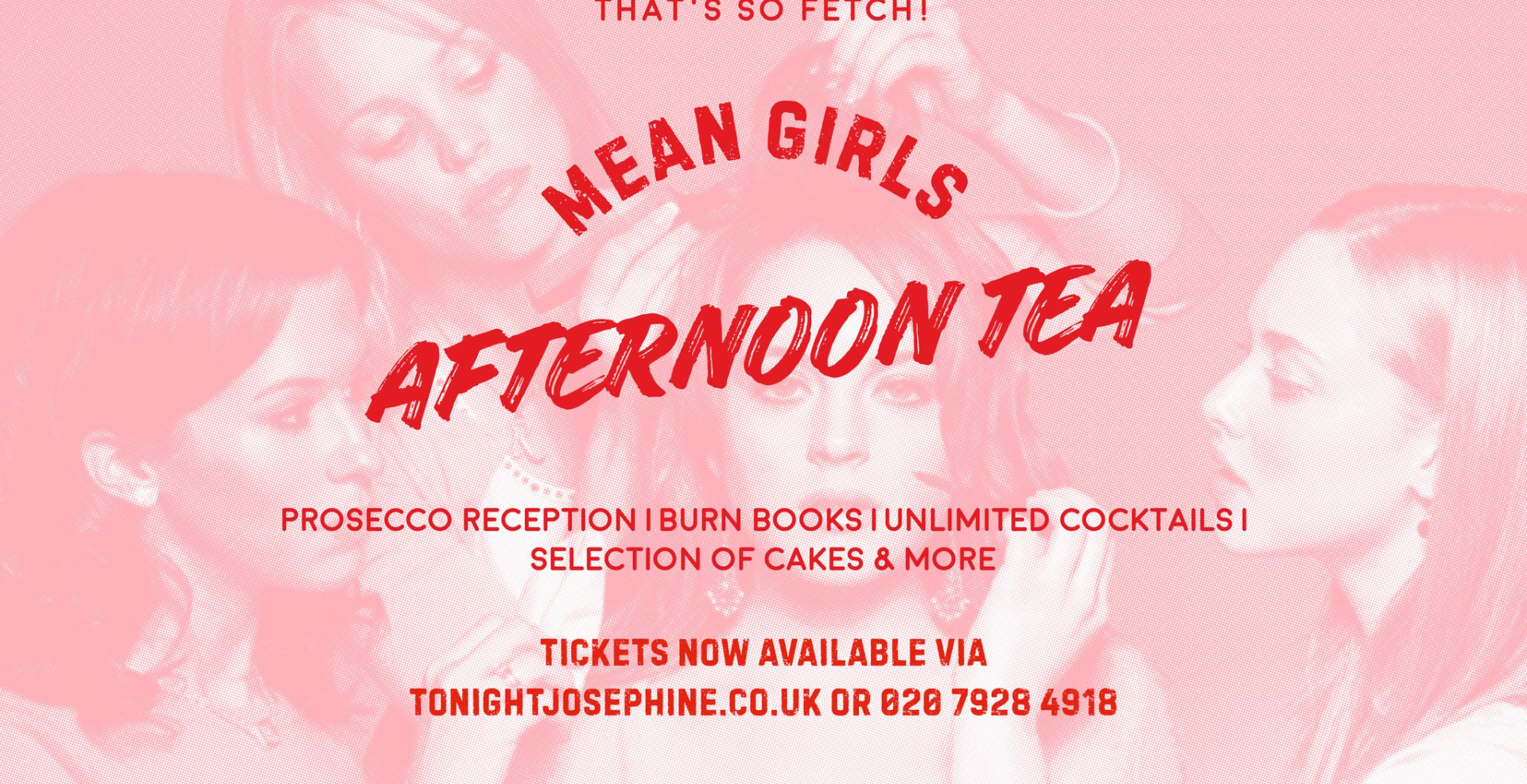 Mean Girls Afternoon Tea