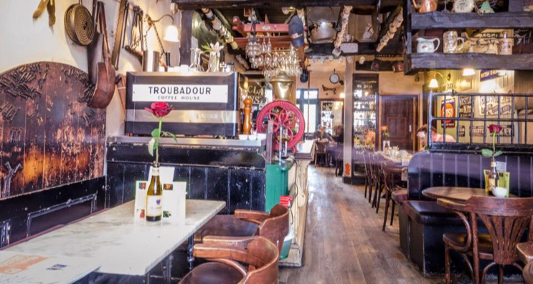 Troubadour | Lesser-Known Rock Locations London | DesignMyNight