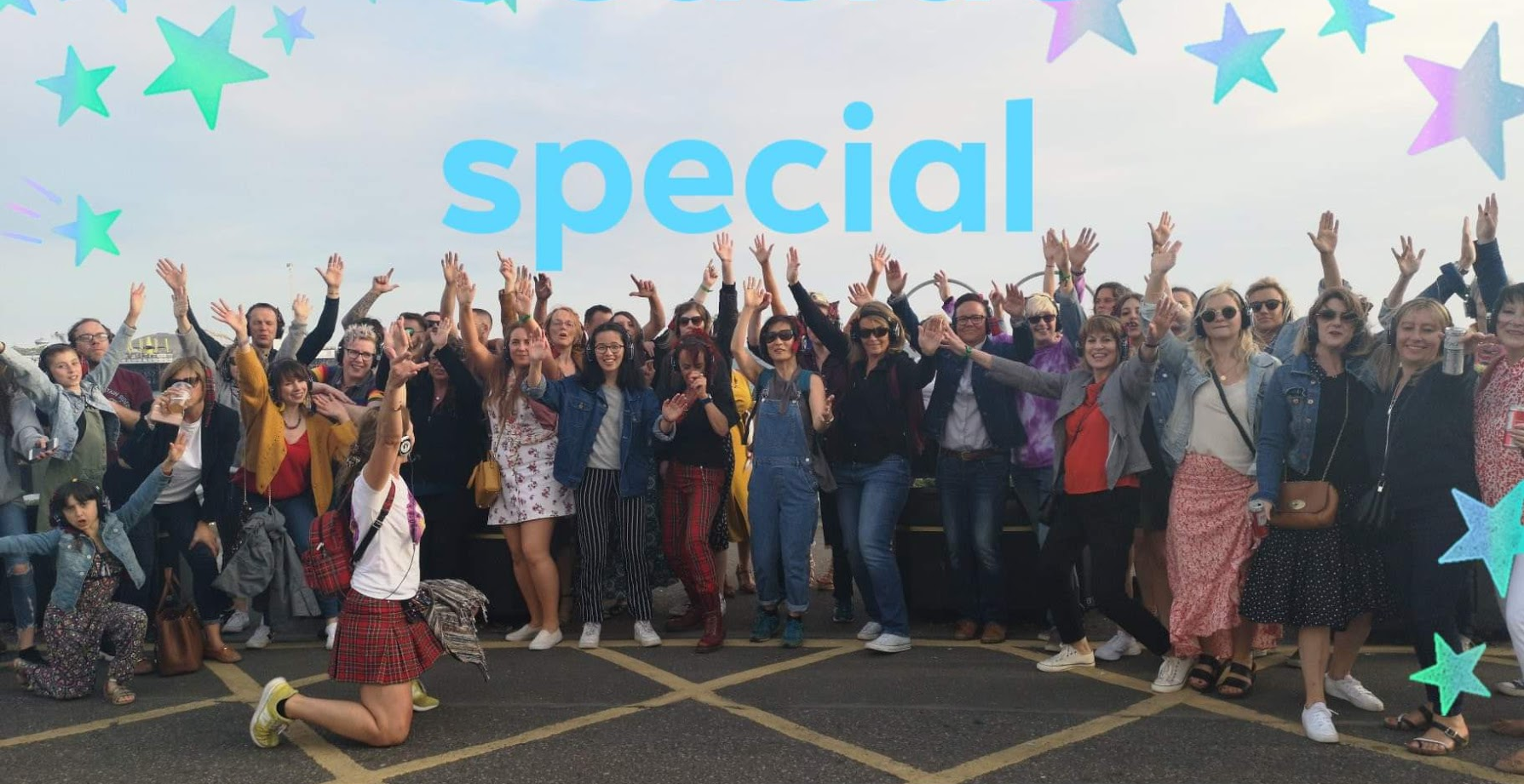 Brighton Seaside Special Boogie Shoes Silent Disco Walkin' Tours
