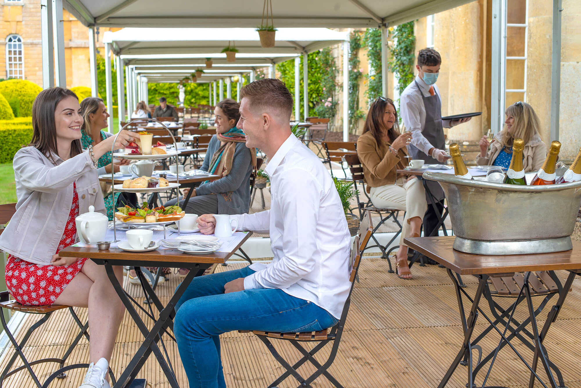 Al Fresco Dining at The Orangery - Supper Tickets