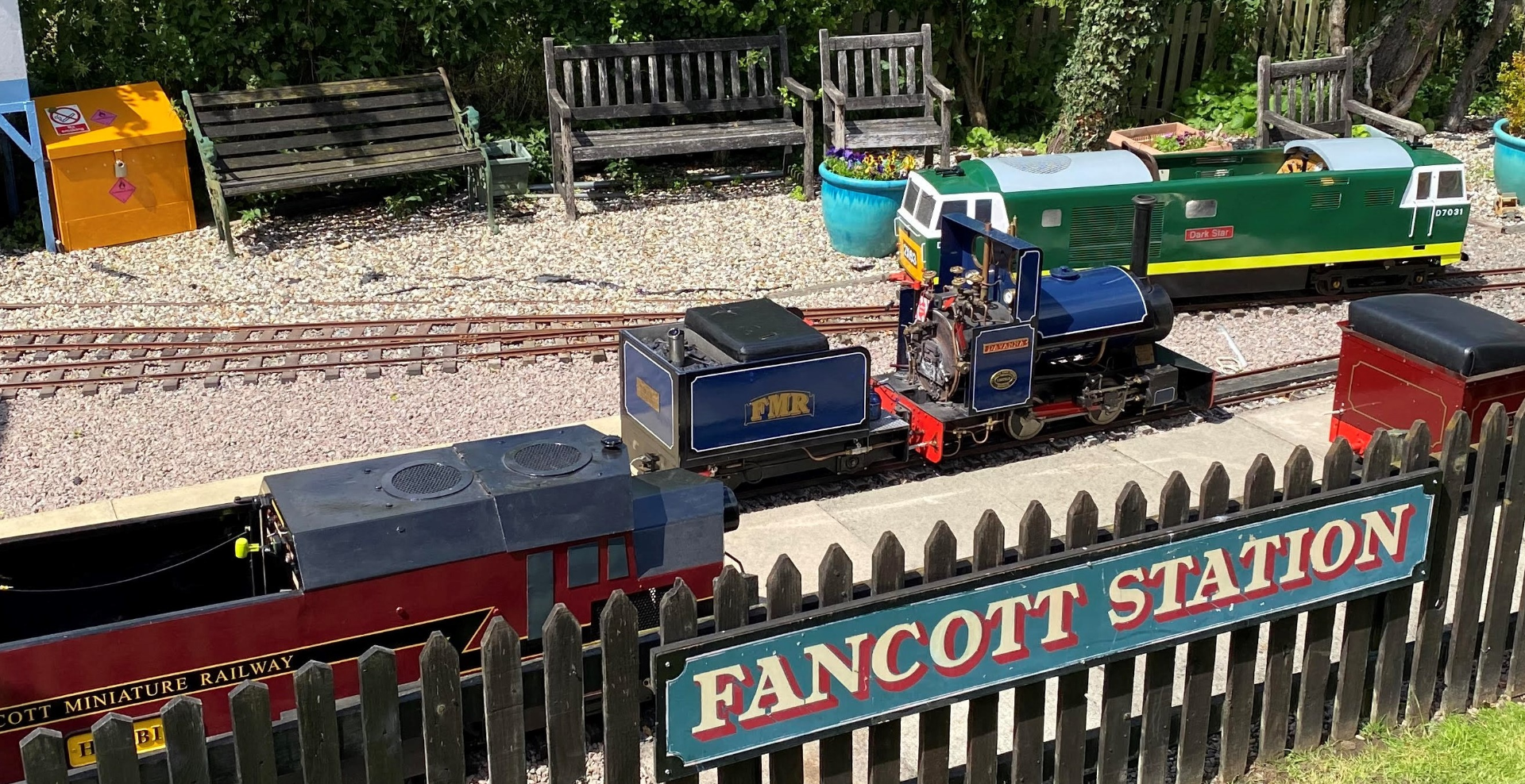Fancott Miniature Railway
