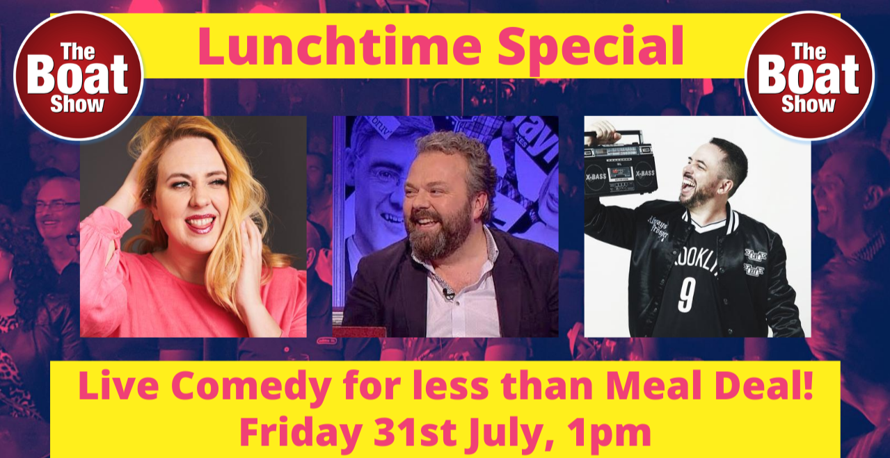 Lunchtime Special! Live Comedy Show