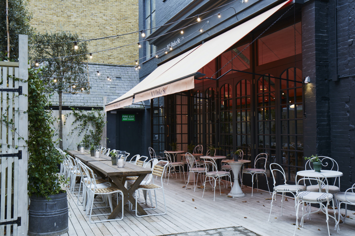 No 1 Duke Street: best brunch places with a view in London