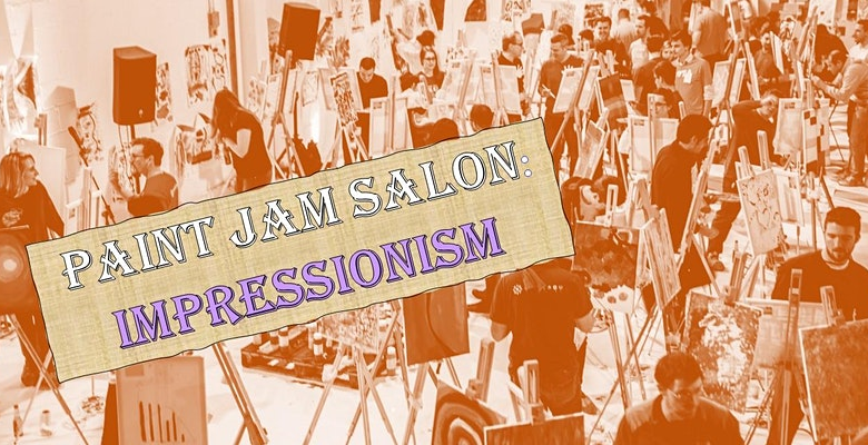 Paint Jam Salon: Impressionism - Al fresco Paint Party