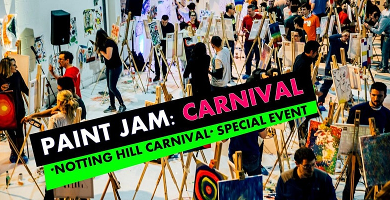 PAINT JAM: CARNIVAL -Al fresco paint party