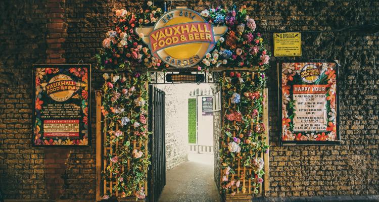 Vauxhall Beer Garden