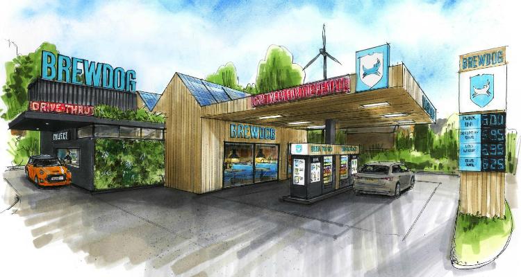 BrewDog Sustainable Drive Thru News DesignMyNight