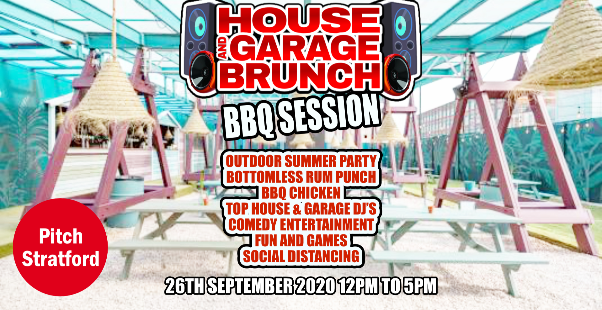 HOUSE AND GARAGE BRUNCH BBQ SESSION