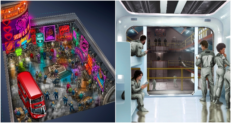 Judge Dredd Live Immersive Experience | London Event News | DesignMyNight