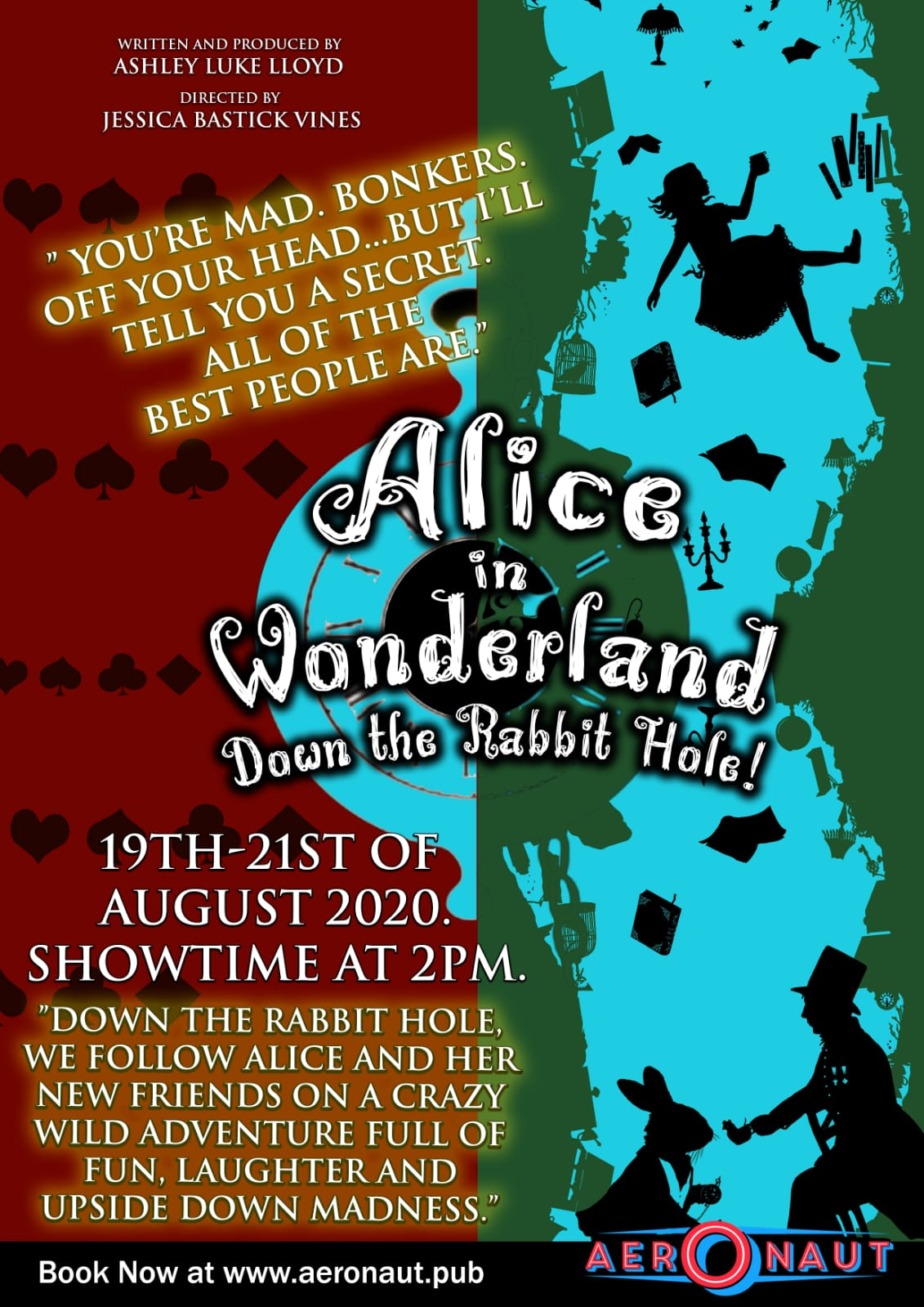ALICE IN WONDERLAND - DOWN THE RABBIT HOLE!