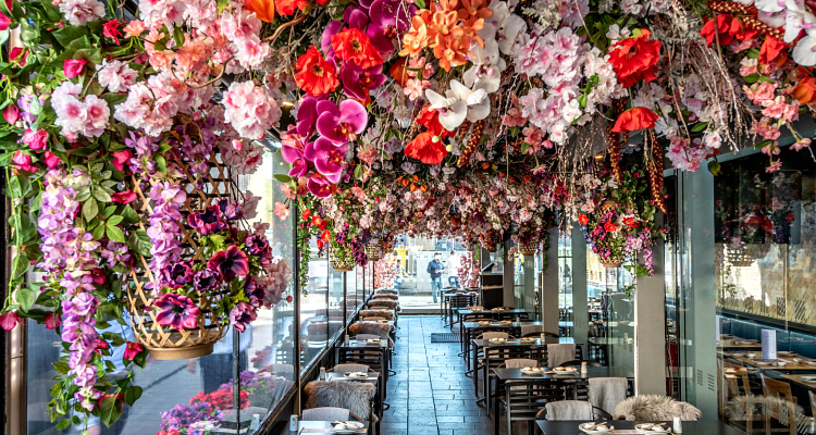 Uncovering Ping Pong's Gorgeous Floral Interior And Dim Sum Menu | DesignMyNight