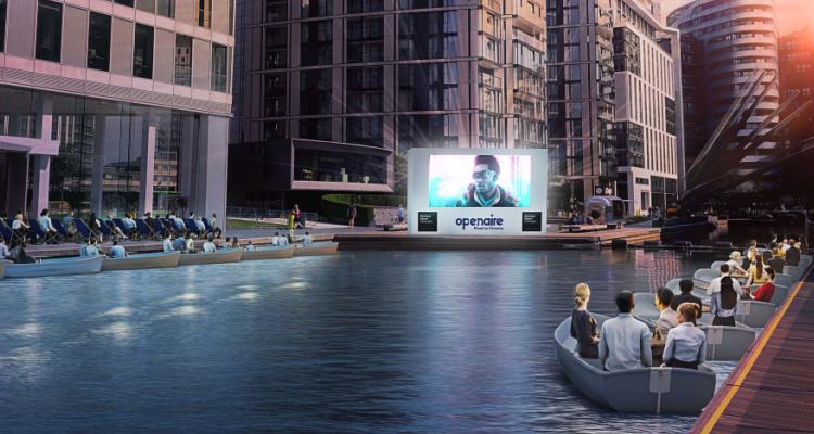 Openair Float In Cinema