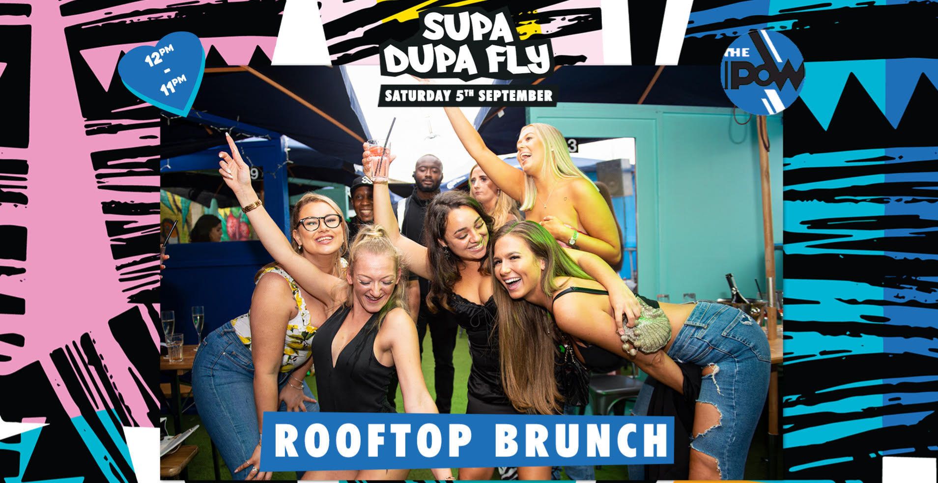 Supa Dupa Fly x Rooftop Brunch
