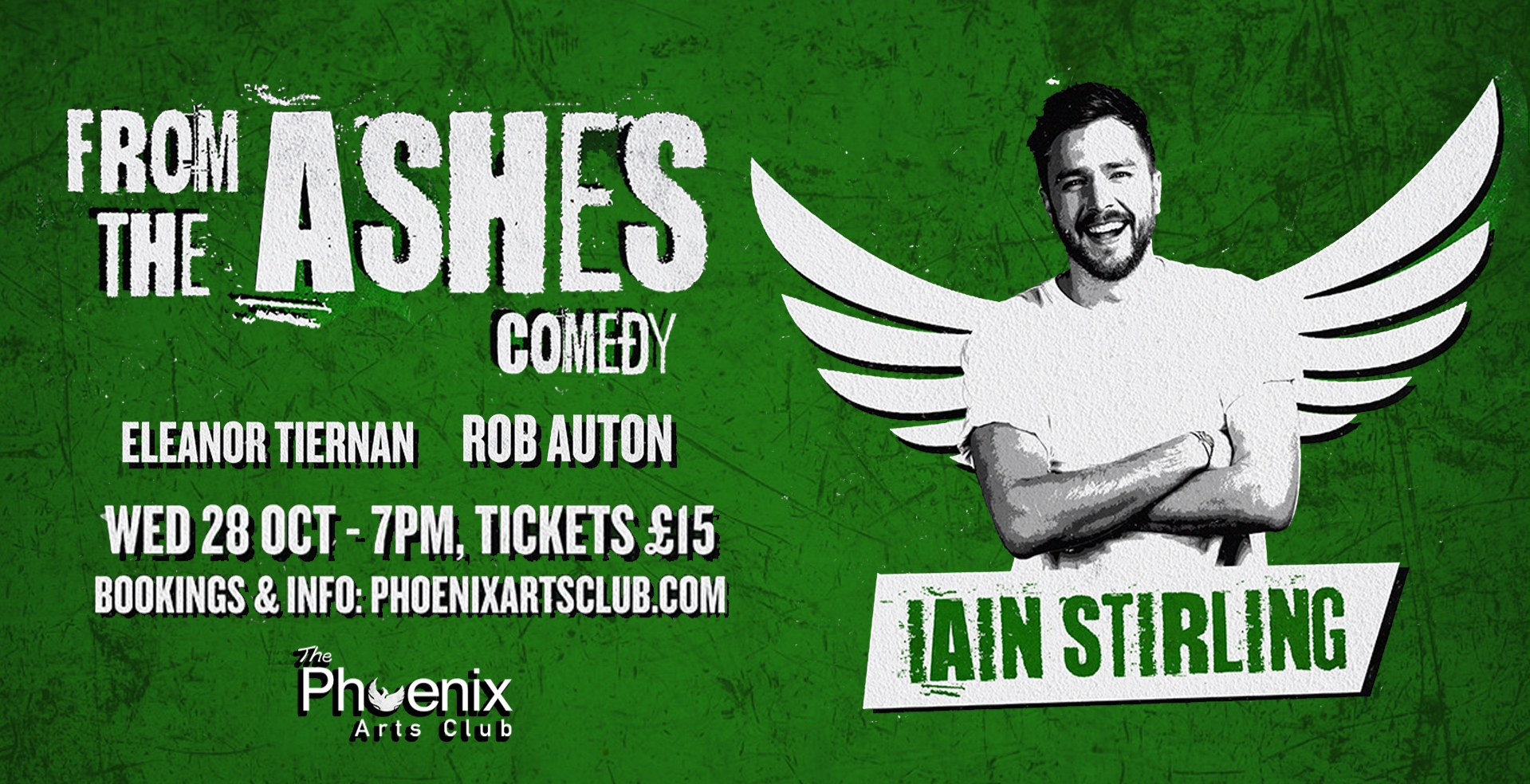 From the Ashes Comedy with Eleanor Tiernan & Friends