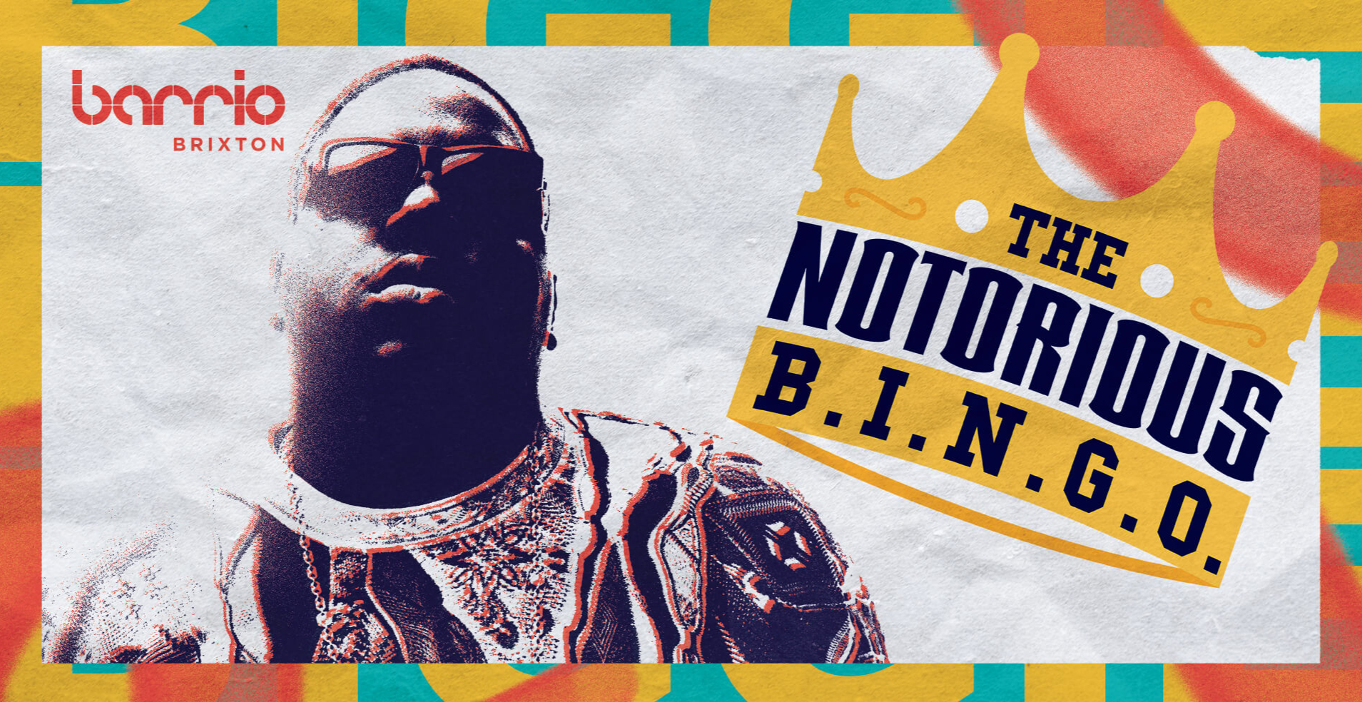 The Notorious B.I.N.G.O. | 90's Musical Bingo Bottomless Brunch