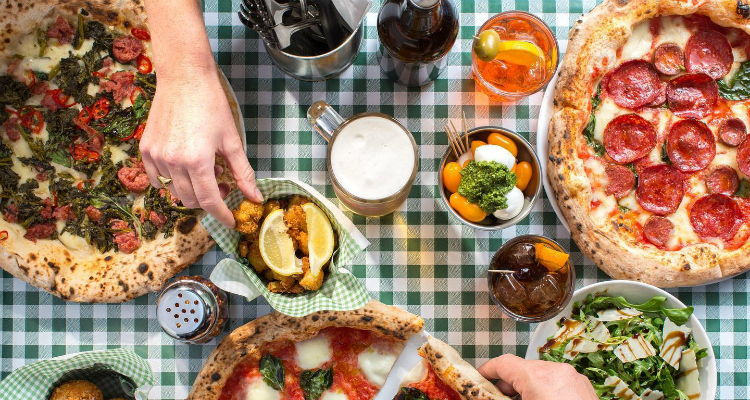Pizza and negronis London PIzza PIlgrims