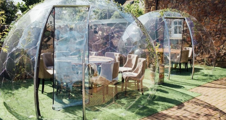 Cardiff Distillery Private Dining Igloos