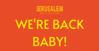 Re-Opening Night at Jerusalem!