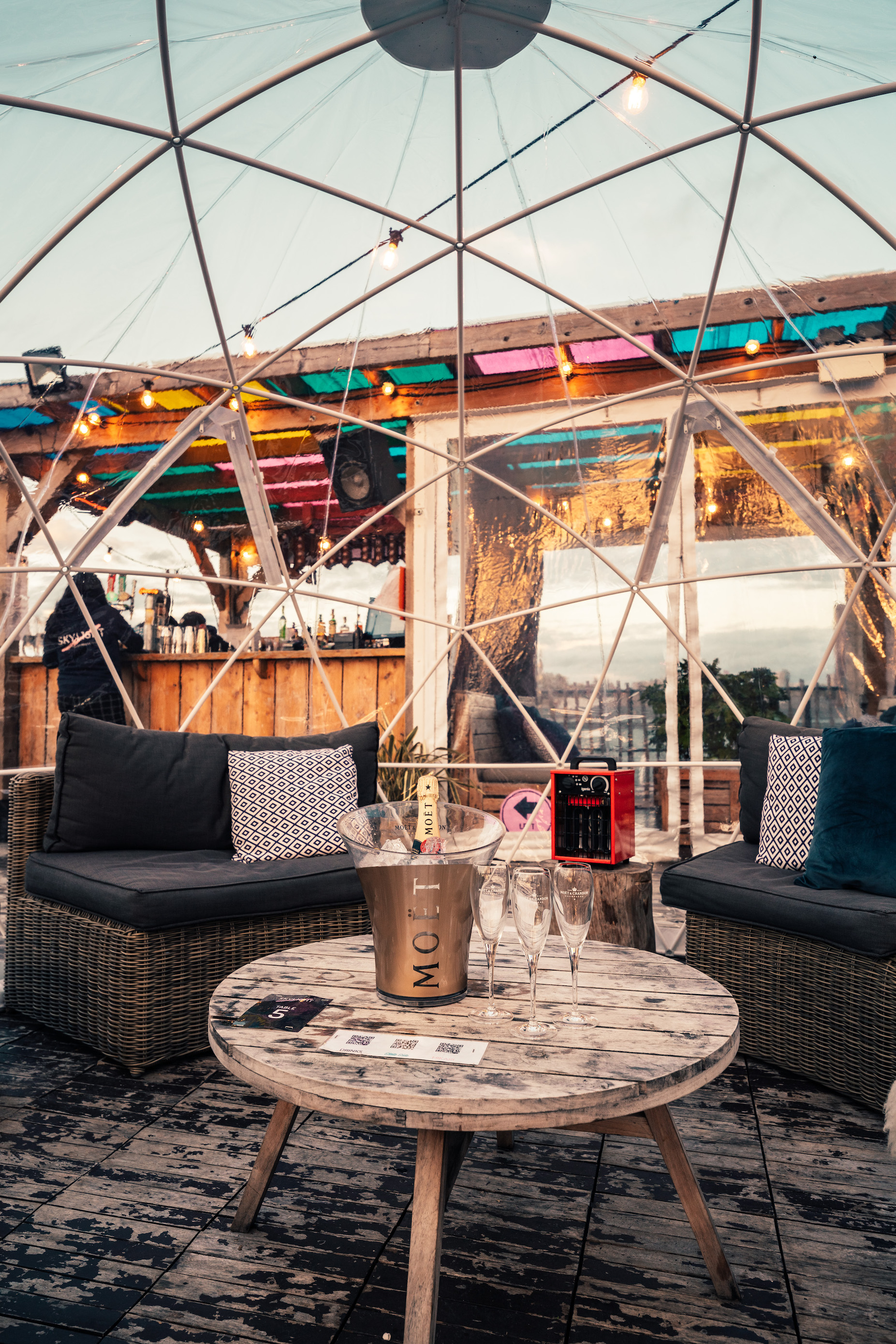 Skylight Rooftop Booth & Table Bookings