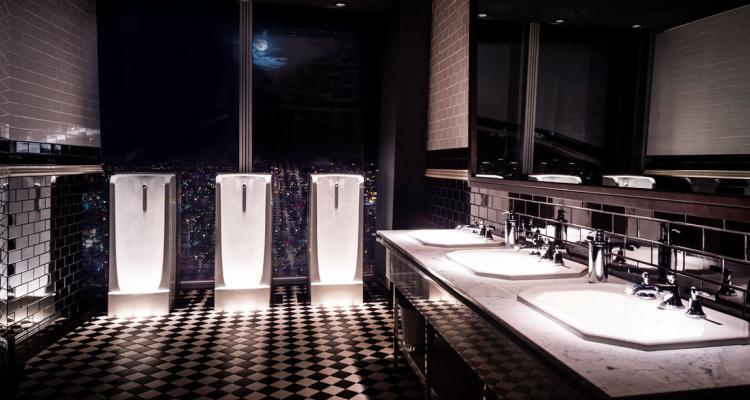 Luxury toilets The Shard