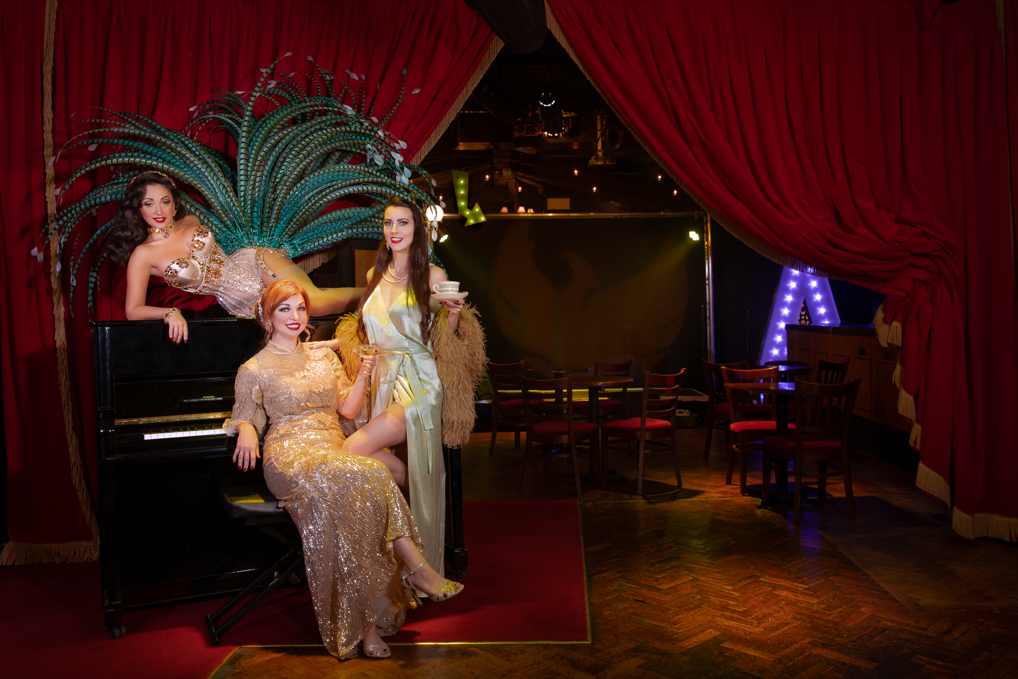 Three For Tea: The Afternoon Tea Cabaret