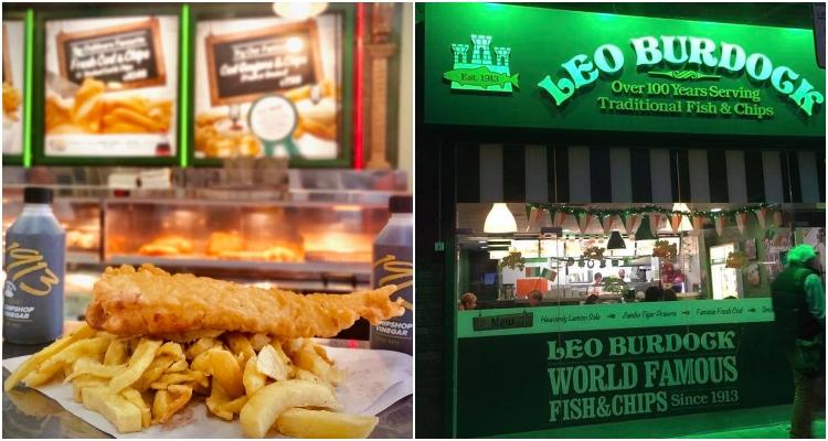 Leo Burdock | Dublin Temple Bar Places To Eat | DesignMyNight