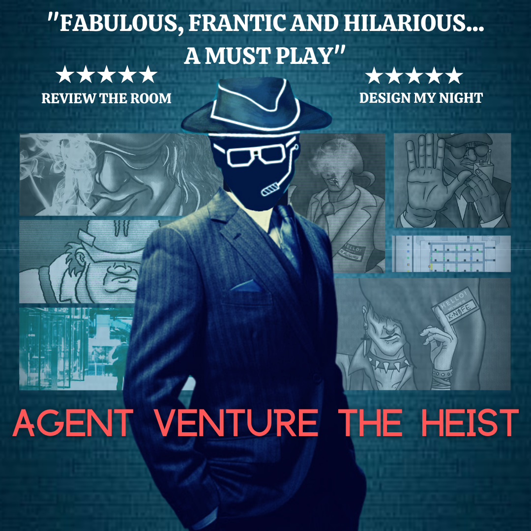 Agent Venture: The Heist - a live online immersive adventure