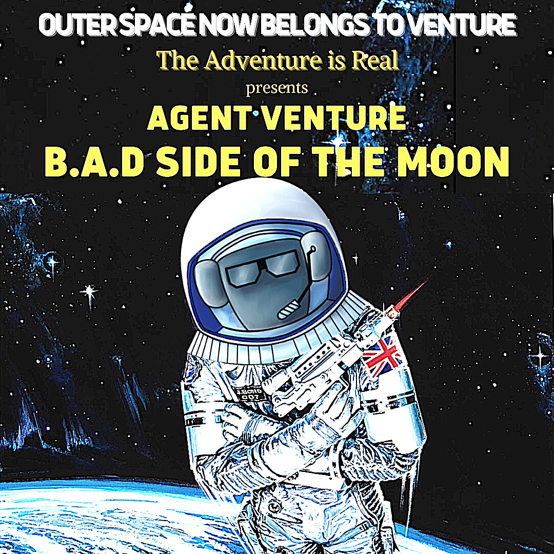 Agent Venture Mission 3: B.A.D Side of the Moon - a live online immersive adventure