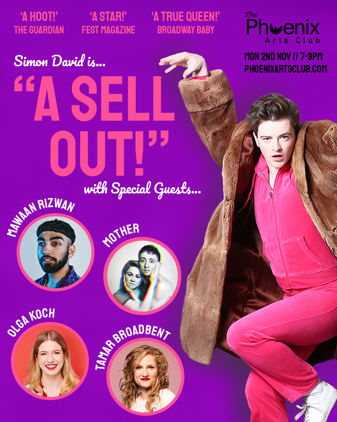 Simon David is... A Sell Out!