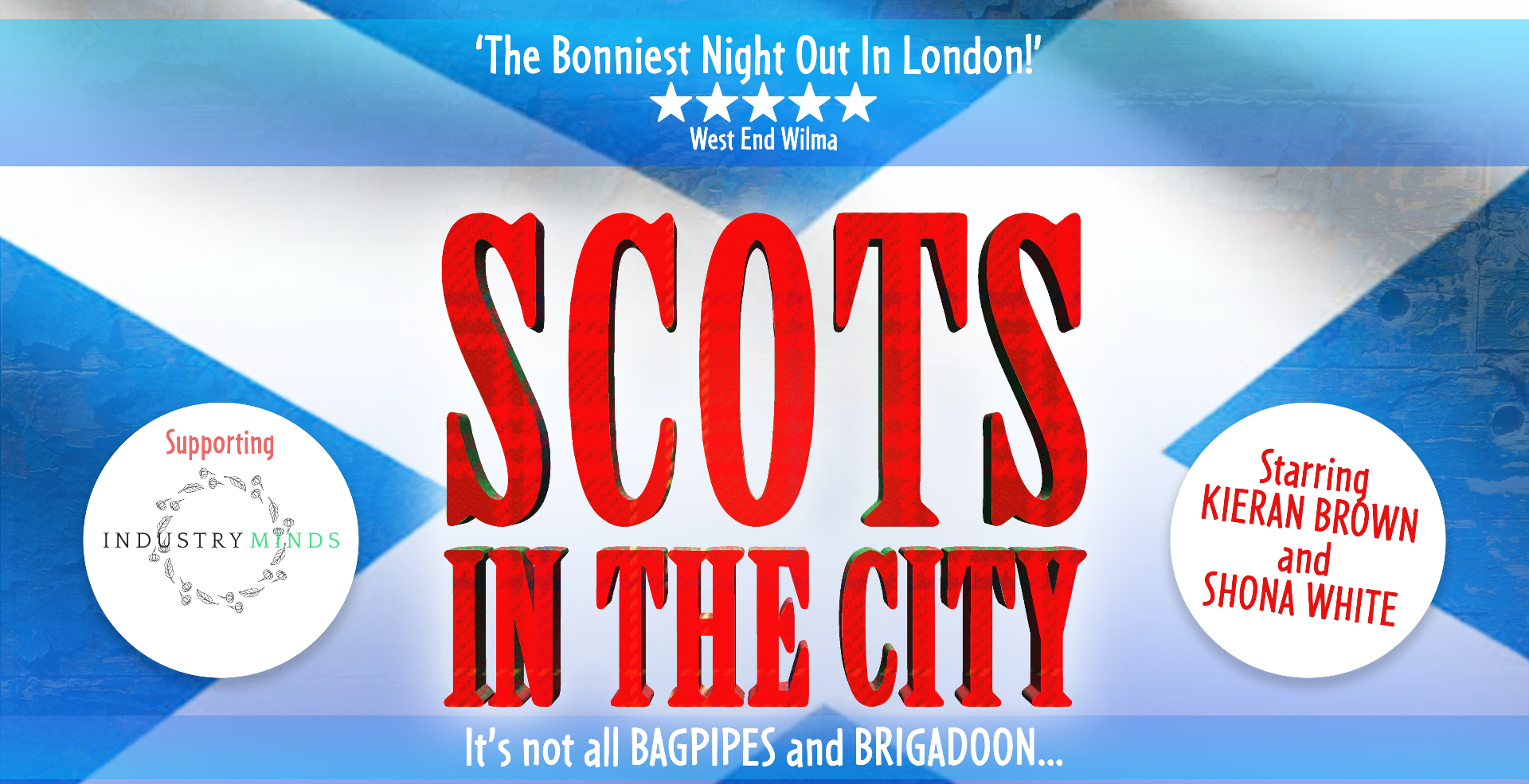 Scots in the City starring Kieran Brown & Shona White