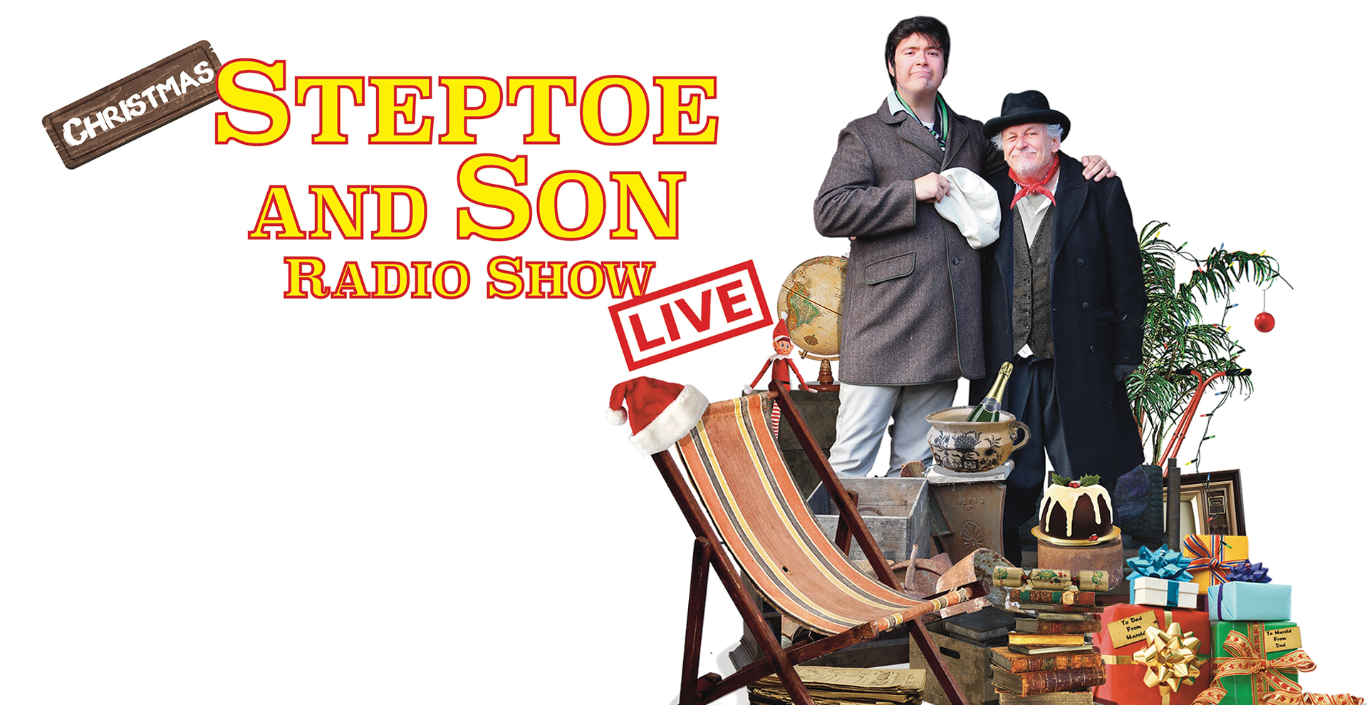 Christmas Steptoe and Son Radio Show LIVE!