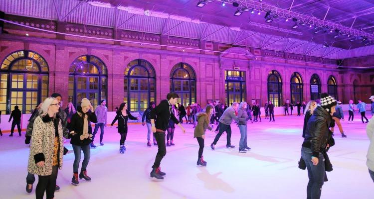 alexandra ice rink indoor ice skating london