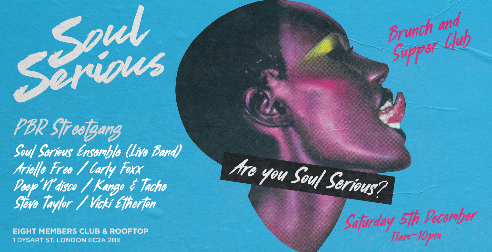Soul Serious - Xmas Rooftop Brunch & Supper Club