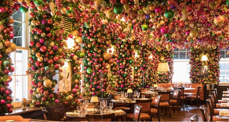 34 Mayfair | London Instagram Christmas Venues | DesignMyNight