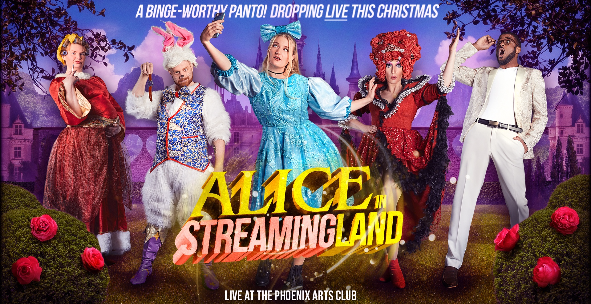 Alice in Streamingland: A Binge-Worthy Musical Pantomime