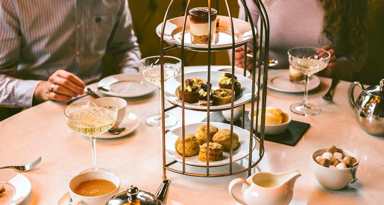 Cafe Parisien Afternoon Tea In Belfast | DesignMyNight