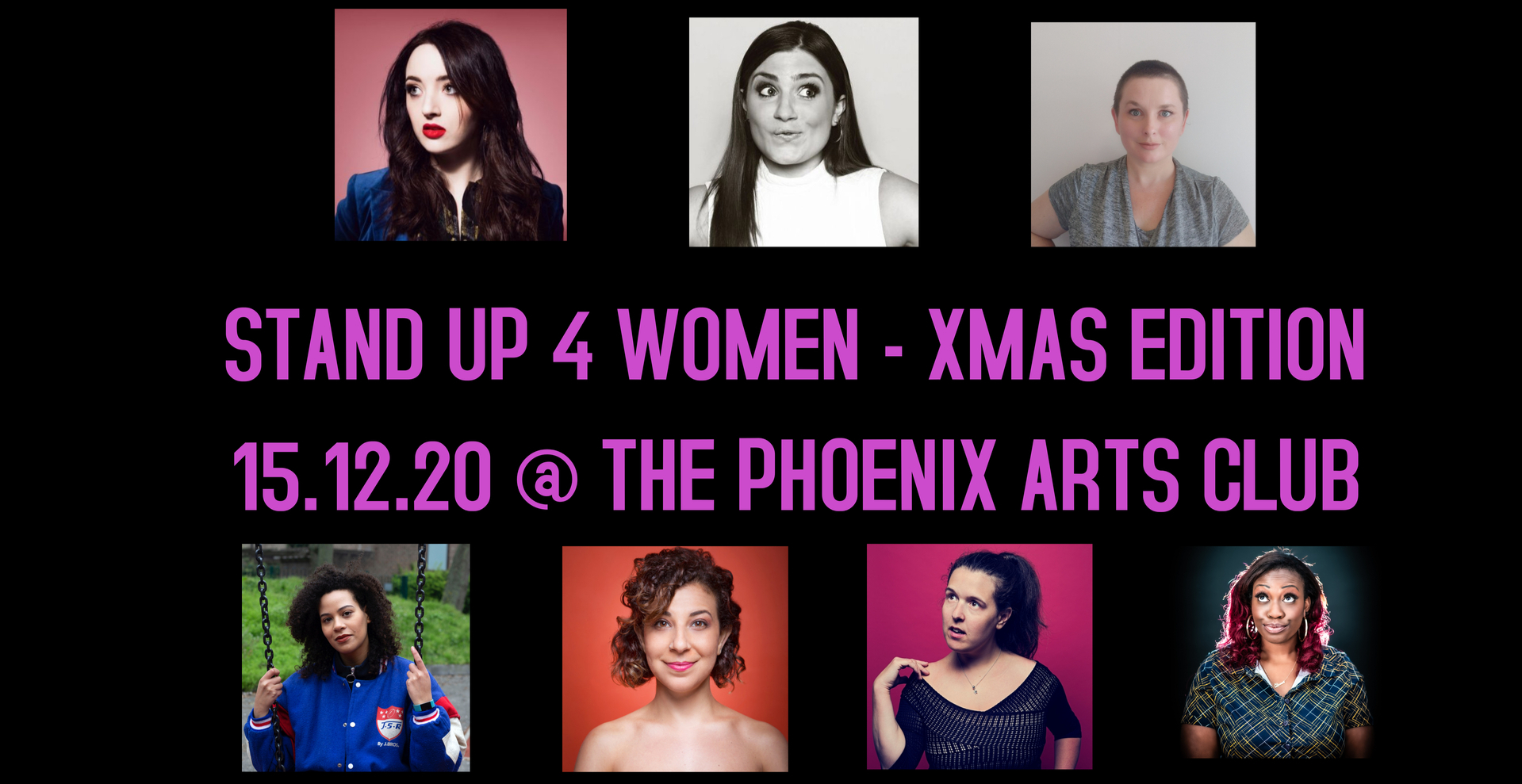 Stand Up 4 Women (Xmas Edition)