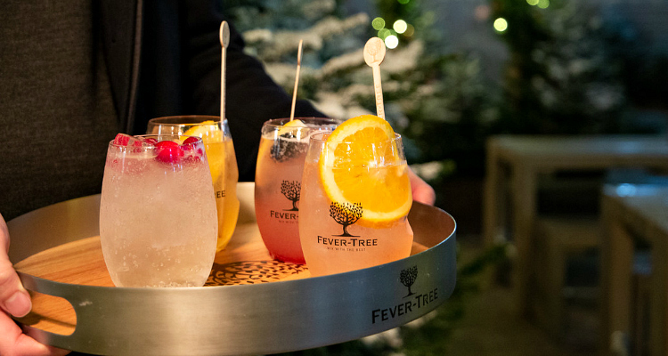 Fever-Tree Christmas Cocktail Delivery UK | DesignMyNight