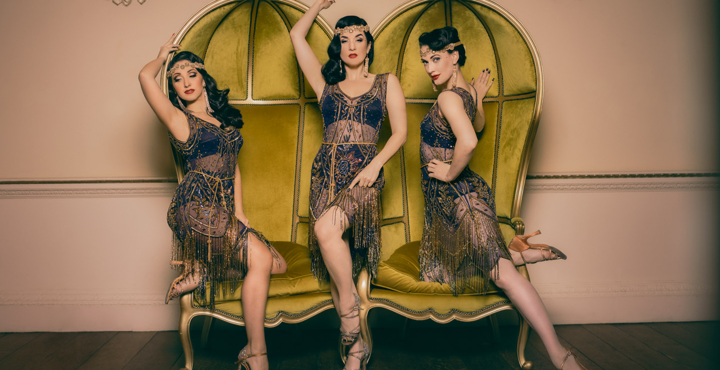 GIN HOUSE BURLESQUE - The new age Spring Revue