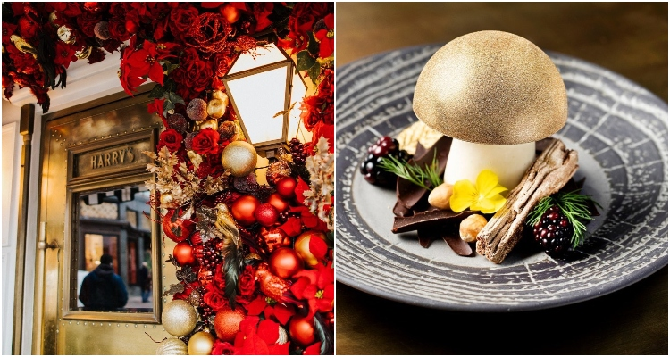 Harry's Dolce Vita | Knightsbridge Christmas Restaurant | DesignMyNight
